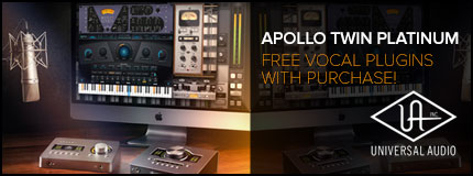 Universal Audio Apollo Twin SOLO MKII Thunderbolt Audio Interface | Ch